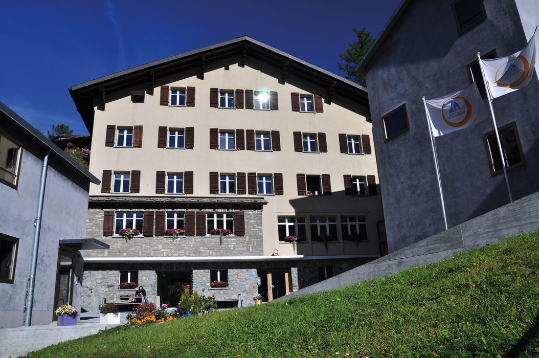 Exterior view  and building Zermatt Youth Hostel