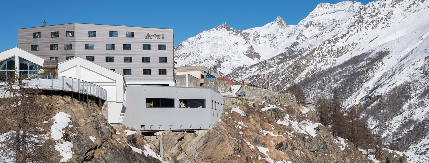 Saas-Fee Wellness Hostel 4000