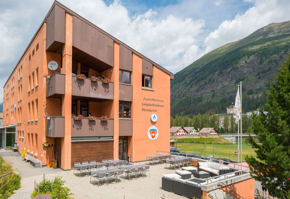 Exterior view Pontresina Youth Hostel